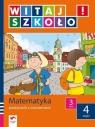 Witaj szkoło 3 Matematyka podręcznik z ćwiczeniami część 4