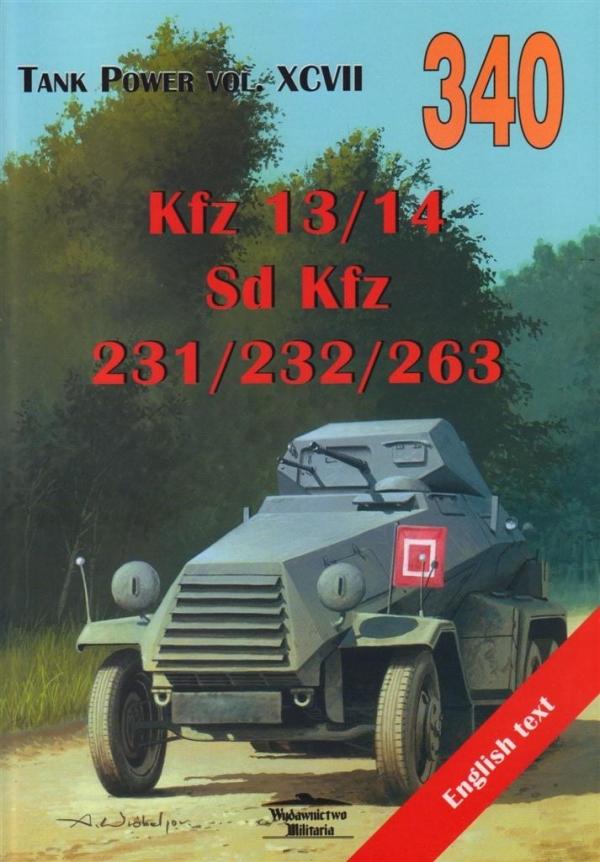 Kfz 13/14 - Sd Kfz 231/232/263 XCVII 340 Janusz Ledwoch,