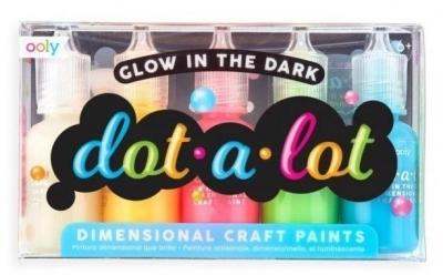 Farby kropkowe Świecące w ciemności