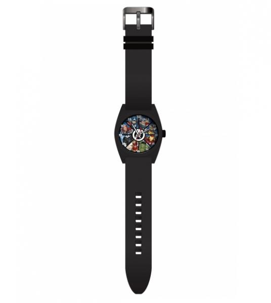 Zegarek analogowy w metalowym opakowaniu - Avengers (MV15783)