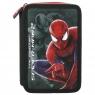 Piórnik z wyposażeniem 2-kom.Spider Man DERFORM