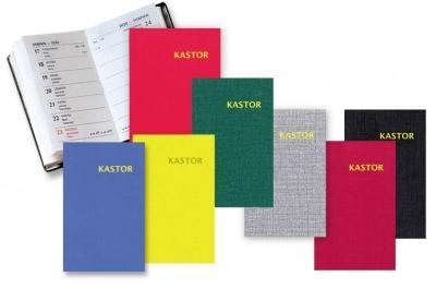 Kalendarz 2022 plastik MIX KASTOR