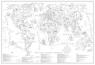 Mapa Kolorowanka Świat Młodego Odkrywcy