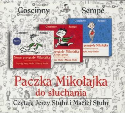 Pakiet Mikołajka- audiobook Sempe Gościnny