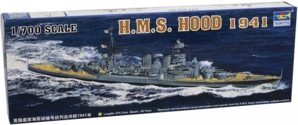 Model do sklejania HMS Hood 1941 (05740)