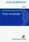 Testy notarialne Aplikacje prawnicze