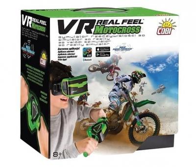 Kierownica i gogle VRW Motocykl