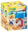 Playmobil 1.2.3 Sand: Zestaw Zamek z piasku (70340) Wiek: 1,5+