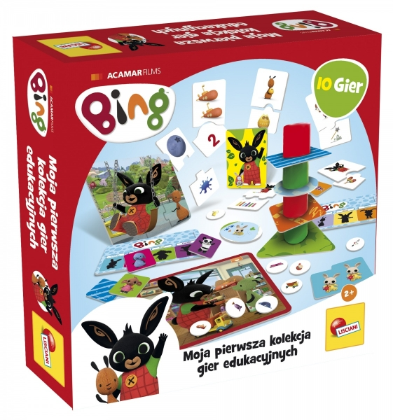 Bing - Kolekcja 10 gier edukacyjnych (304-PL75867)