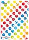 Notatnik PP my.book Flex A5/40 kartek w kratkę Smiley World (50001736)