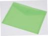 Focus koperta A5 przezroczysta kolorowa c4534 zielona