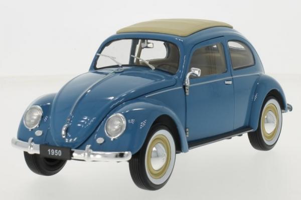 Volkswagen Beetle Brezelfenster 1950 (light blue/beige)