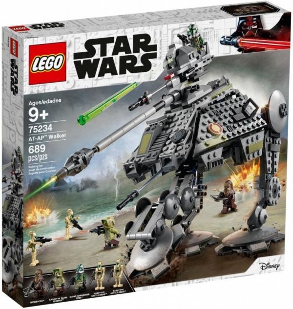 Klocki Star Wars Maszyna krocząca AT-AP (75234)