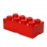 Pojemnik klocek LEGO® Brick 8 - Czerwony (40041730)