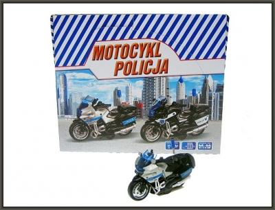 Motocykl Hipo Policja PL 13cm (HKG104)