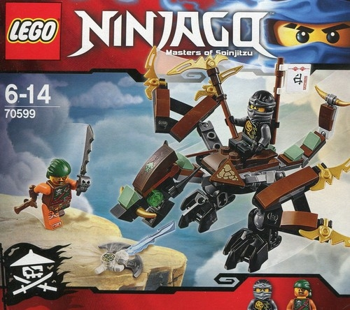Lego Ninjago Smok Cole'a (70599)