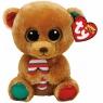 Beanie Boos Bella - brązowy miś z cukierkiem 15 cm (37240)
