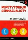Repetytorium gimnazjalisty matematykaGimnazjum na 5 Lichosik Marta