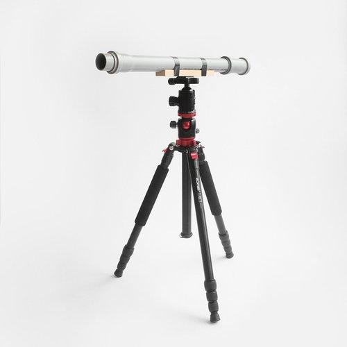 Teleskop astronomiczny DIY (pow. 30x) zestaw do samodzielnej budowy