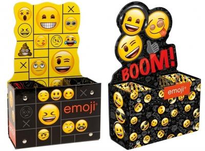 Pojemnik na przybory szkolne - Emoji