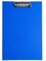 Deska A5 PVC z klipem niebieska D.RECT