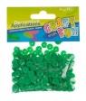 Cekiny metaliczne kółka 8mm zielone