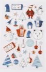 Naklejki 3D Boże Narodzenie