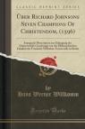 ?ber Richard Johnsons Seven Champions Of Christendom, (1596)