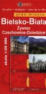 Bielsko-Biała Żywiec Czechowice-Dziedzice Plan Miasta 1: 20 000