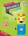 IQ Inteligencja logiczna i rozwój mózgu dla 3-5 latków z poradami psychologa. Książki z naklejkami.