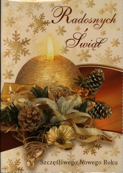 Karnet świąteczny BN  KB4BN B6  MIX religijny i świecki DL LUX