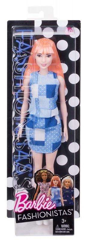BARBIE Fashionistas, Patchwork Denim (FBR37/DYY90)