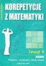 Korepetycje z matematyki 4 Algebra Równania i nierówności, układy równań
