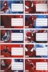 Naklejki na zeszyty Ultimate Spider-Man 10 sztuk