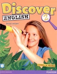 Discover English 2 zeszyt ćwiczeń z płytą CD Hearn Izabella