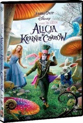 Alicja w Krainie Czarów Tim Burton