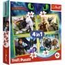 Puzzle 4w1: Jak wytresować Smoka (34341)