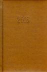 Kalendarz 2016 Książkowy B6D jasny brąz