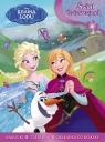 Kraina Lodu: Świat dziewczynek + naklejki, szablony i zakładka do książek