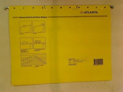 Teczki zawieszkowe Atlanta ATLANTA A3 plus żółcień neapolitańska jasna 225g (A6558144)