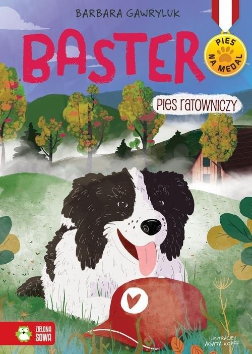 Pies na medal Baster Pies ratowniczy Tom 6 Gawryluk Barbara