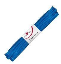 Wstążka ozdobna 3m/3mm royal niebieska