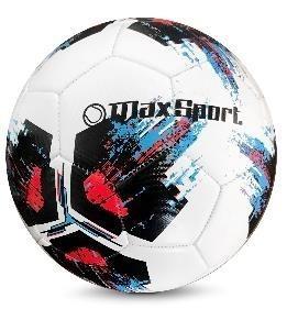 Piłka nożna Max Sport biało-czarna