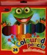 Kredki ołówkowe 24 kolory