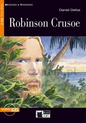 Robinson Crusoe książka + CD B2.2 Daniel Defoe