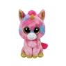 Beanie Boos: Fantasia - maskotka Kolorowy Jednorożec, 24 cm (37041)
