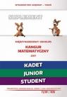 Matematyka z wesołym kangurem - Suplement 2017 Kadet