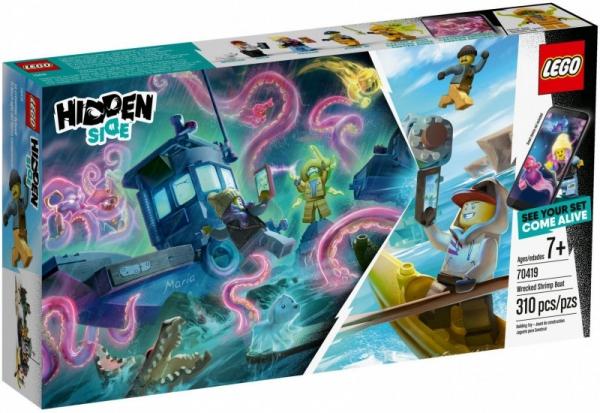 Lego Hidden Side: Wrak łodzi rybackiej (70419)
