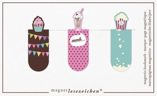 Zakładki Magnetyczne Jak słodko 3szt