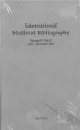 International Medieval Bibliography vol.34 part 1-2
